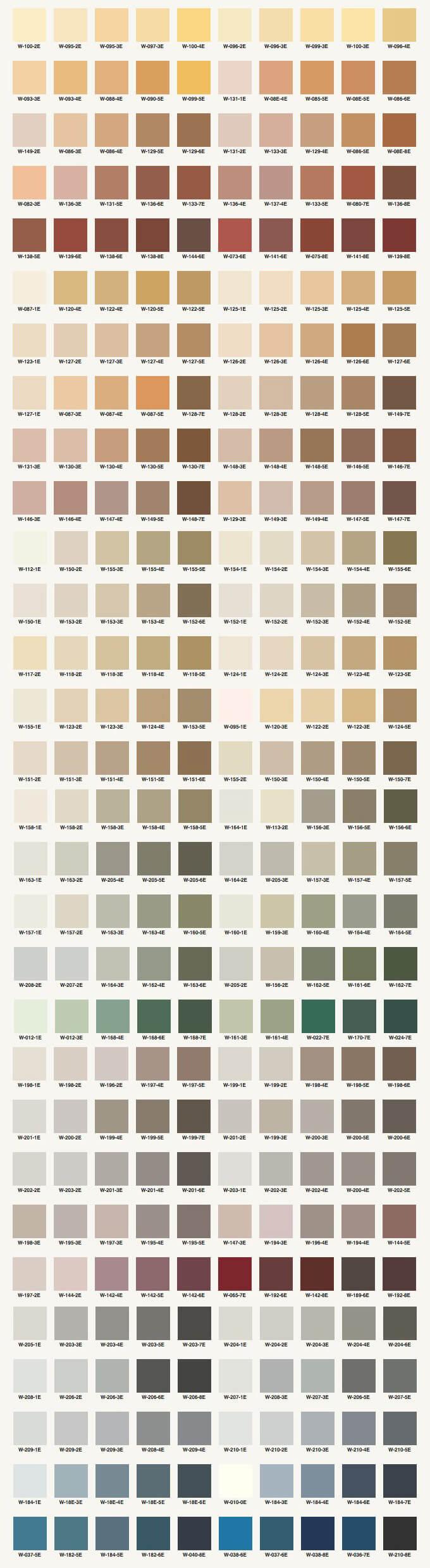 Adex - couleurs d'enduit d'acrylique pour bâtiment